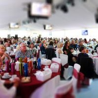 The annual Bolton Food and Drink Festival once again attracted large crowds on its third day. Picture by Paul Heyes, Sunday August 28, 2016.
