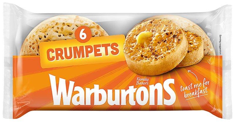 Warburtons 6pk Crumpets