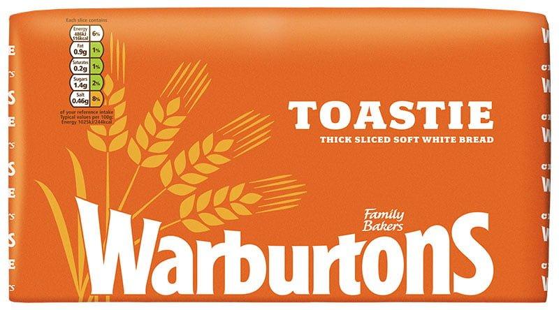 Warburtons Toastie Wax Large