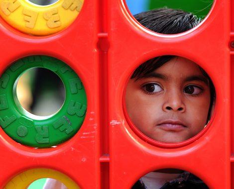 Child at festivalS